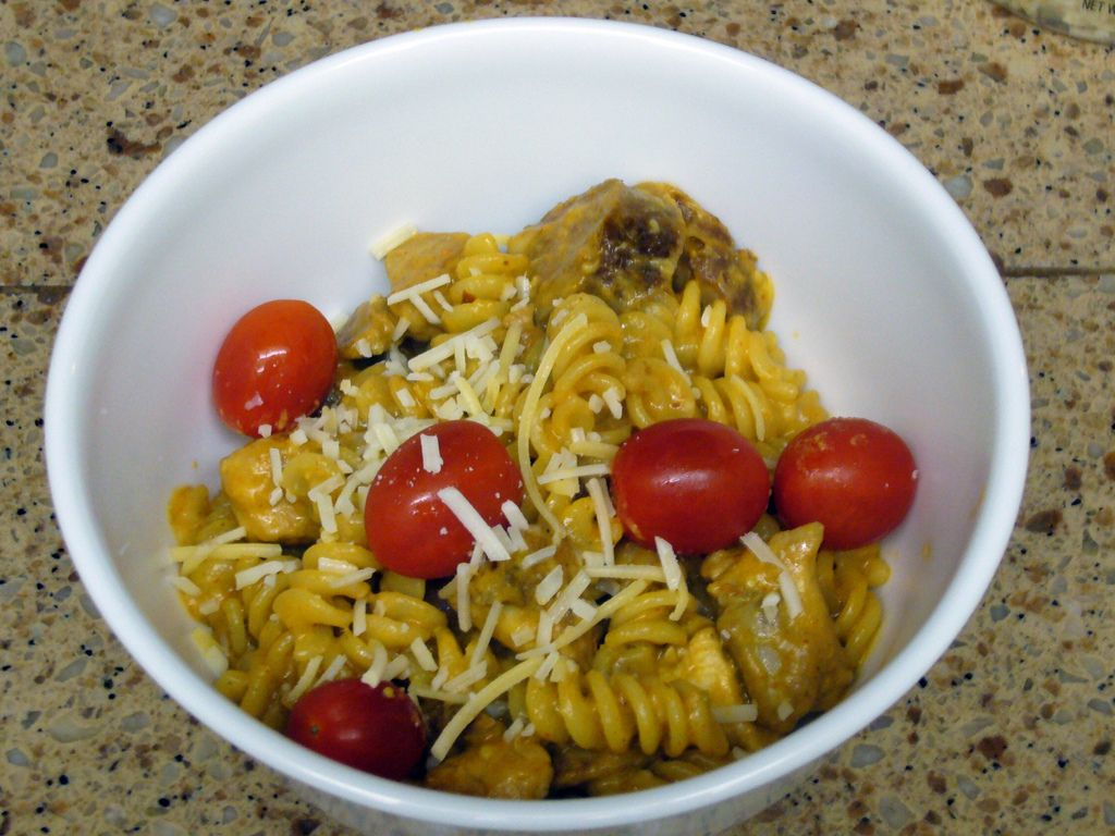 Chicken and Pasta in Adobo Sauce
