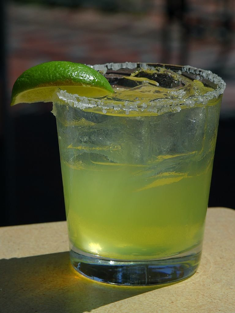 Ultimate over rocks margarita