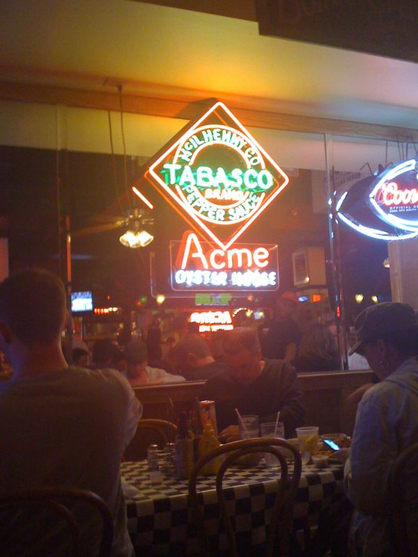 Acme Oyster House Review
