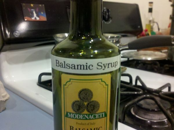 Balsamic Vinegar Syrup