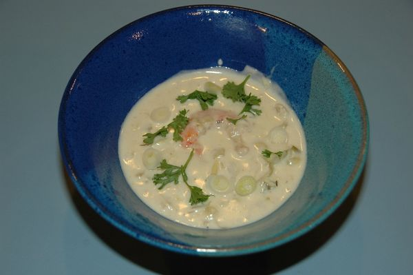 Artichoke Shrimp Soup