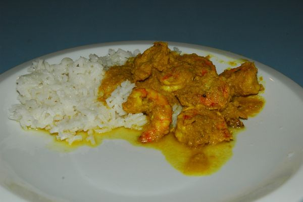 Vindaloo (shrimp/lamb/chicken/tofu)