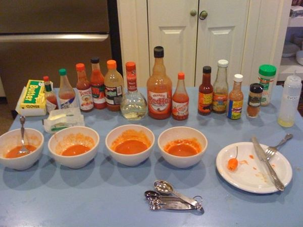 Kaydub's Hot Wing Sauce